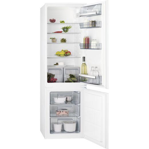 AEG SCB618F3LS Integrated 70/30 Fridge Freezer with Sliding Door Fixing Kit - White - F Rated