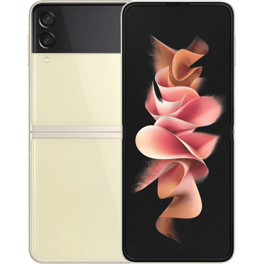 Samsung Galaxy Z Flip3 5G 256GB Flip Phone in Cream