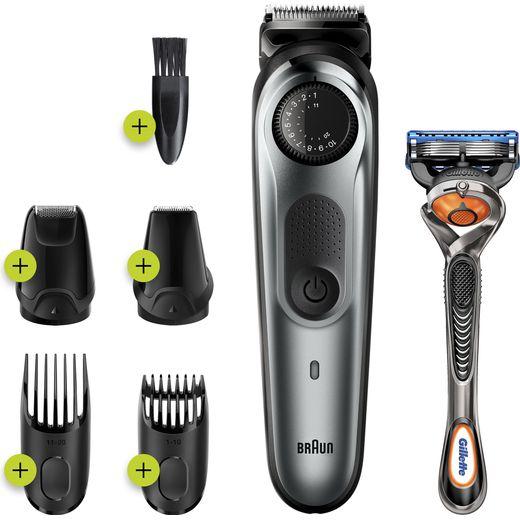 Braun BeardTrimmer 7 Beard Trimmers Black / Silver