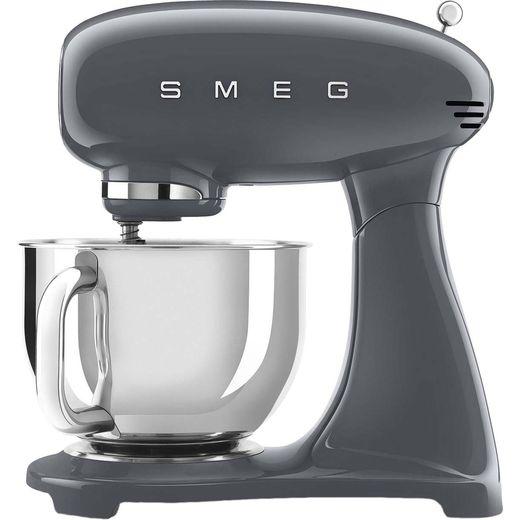 Smeg 50's Retro SMF03GRUK Stand Mixer with 4.8 Litre Bowl - Grey