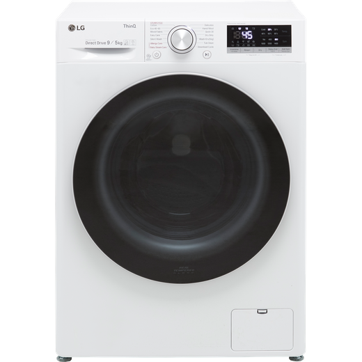 LG V5 FWV595WSE Wifi Connected 9Kg / 5Kg Washer Dryer with 1400 rpm - White - E Rated
