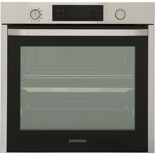 Samsung Dual Cook NV75K5571RS Built In Electric Single Oven - Stainless Steel - A Rated