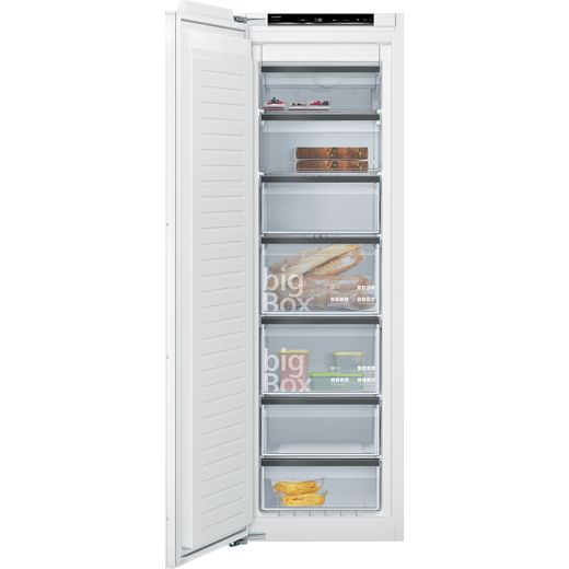 Siemens IQ-700 GI81NHCE0G Integrated Frost Free Upright Freezer with Fixed Door Fixing Kit - E Rated