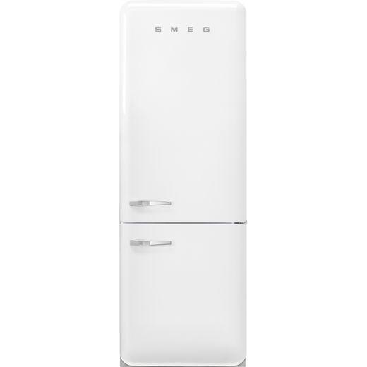 Smeg Right Hand Hinge FAB38RWH5 70/30 Frost Free Fridge Freezer - White - E Rated