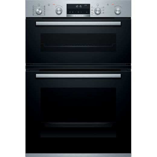 Bosch Serie 6 MBA5785S6B Built In Electric Double Oven - Stainless Steel - A/B Rated