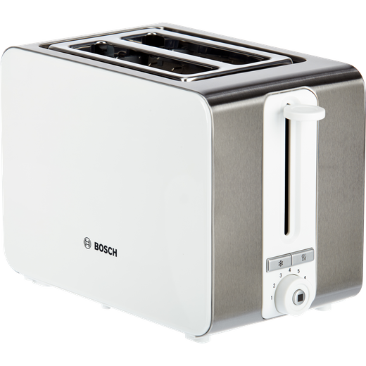 Bosch Sky TAT7201GB 2 Slice Toaster - White