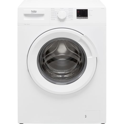 Beko WTL74051W 7Kg Washing Machine with 1400 rpm - White - D Rated