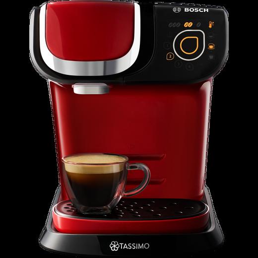 Tassimo by Bosch My Way 2 TAS6503GB Pod Coffee Machine - Red