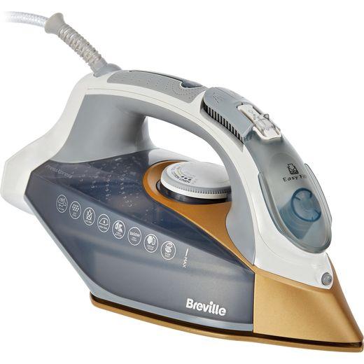 Breville PressXpress 2600W VIN406 2600 Watt Iron -Grey / Gold
