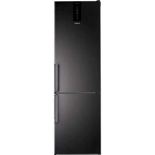 Hotpoint H9T921TKSH2 60/40 Frost Free Fridge Freezer - Black - E Rated