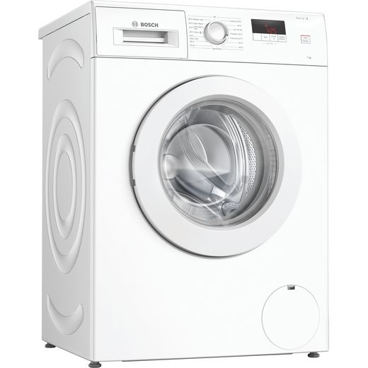 Bosch Serie 2 WAJ24006GB 7Kg Washing Machine with 1200 rpm - White - D Rated