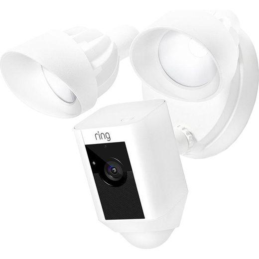 Ring Floodlight Cam Network Surveillance Cam - Full HD 1080p - White