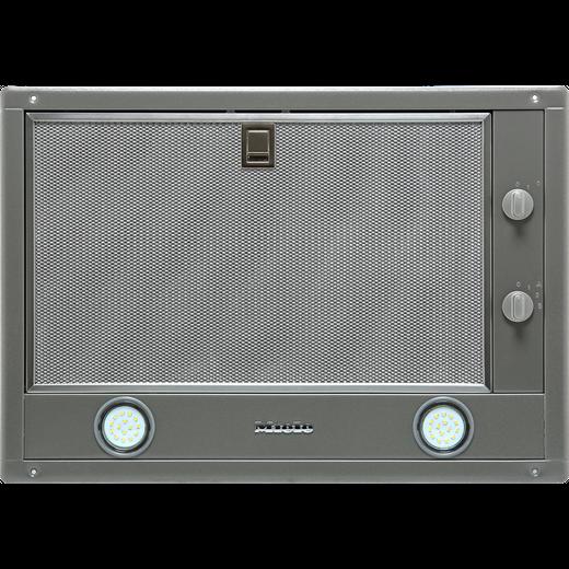 Miele DA2450 53 cm Canopy Cooker Hood - Clean Steel - A Rated