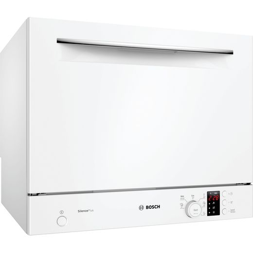 Bosch Serie 4 SKS62E32EU Table Top Dishwasher - White - F Rated