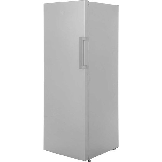 Beko FFP1671S Frost Free Upright Freezer - Silver - F Rated