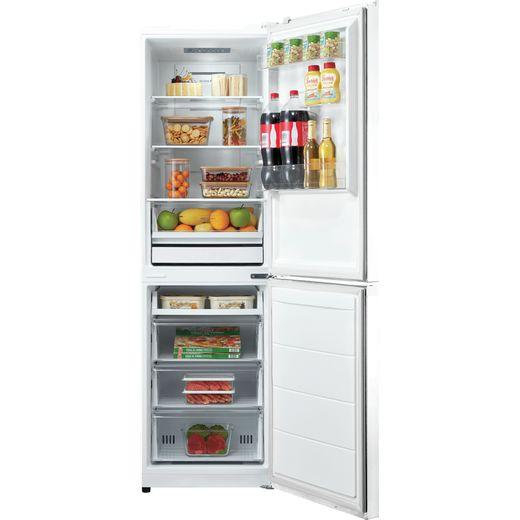 Hoover HMDNB5182WWDK 50/50 Frost Free Fridge Freezer - White - F Rated