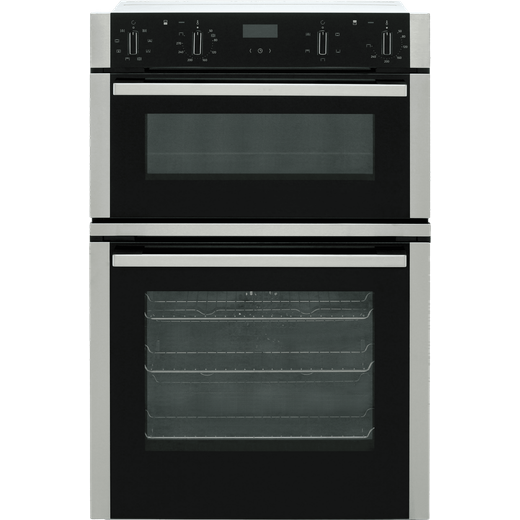 NEFF N50 U1ACE2HN0B Built In Electric Double Oven - Stainless Steel - A/B Rated