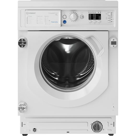 Indesit BIWMIL91484UK Integrated 9Kg Washing Machine with 1400 rpm - White - C Rated