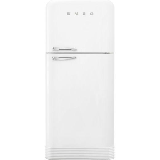 Smeg Right Hand Hinge FAB50RWH5 80/20 Frost Free Fridge Freezer - White - E Rated