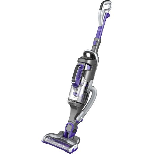 Black + Decker Multipower Pet CUA525BHP-GB Cordless Vacuum Cleaner with up to 60 Minutes Run Time
