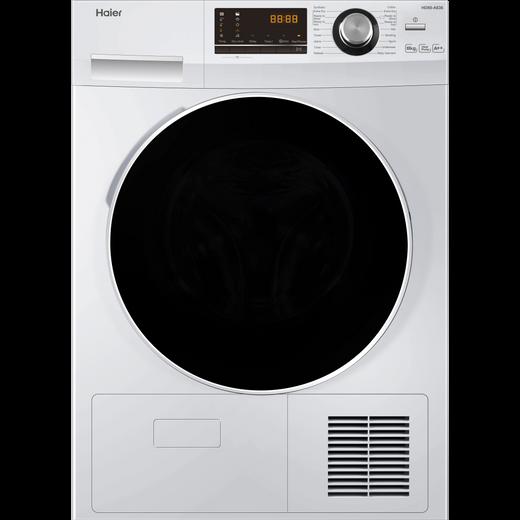 Haier HD80-A636 8Kg Heat Pump Tumble Dryer - White - A++ Rated