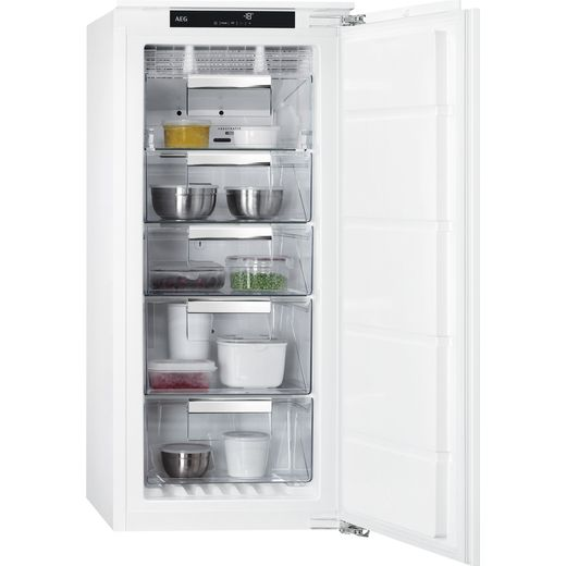 AEG ABB812E6NC Integrated Frost Free Upright Freezer with Fixed Door Fixing Kit - E Rated