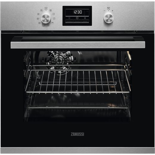 Zanussi ZZP35901XK Built In Electric Single Oven - Stainless Steel - A Rated