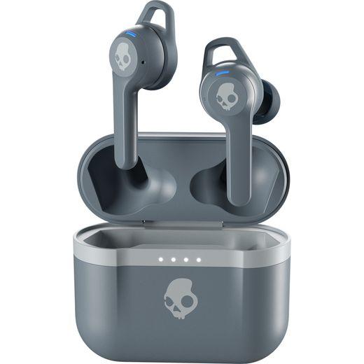 Skullcandy Indy Evo In-Ear Water Resistant Wireless Bluetooth Headphones - Grey