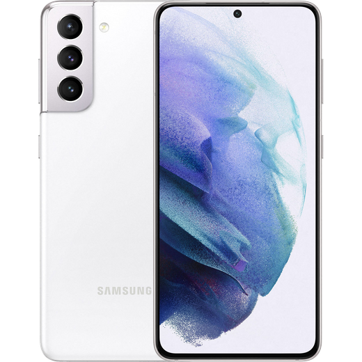 Samsung Galaxy S21 5G 128GB Smartphone in Phantom White