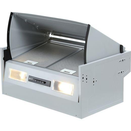 NEFF N30 D64MAC1X0B 60 cm Integrated Cooker Hood - Silver - B Rated