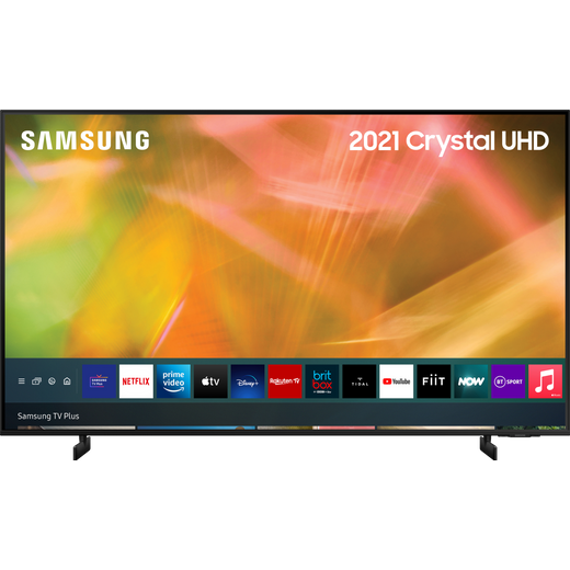 "Samsung UE43AU8000 43"" Smart 4K Ultra HD TV"