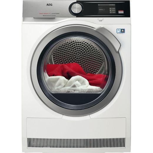 AEG AbsoluteCare Technology T8DEA866C Heat Pump Tumble Dryer - White