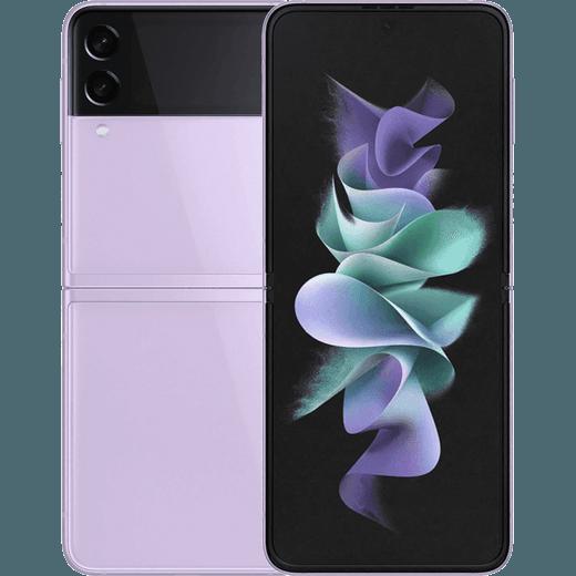 Samsung Galaxy Z Flip3 5G 128GB Flip Phone in Lavender
