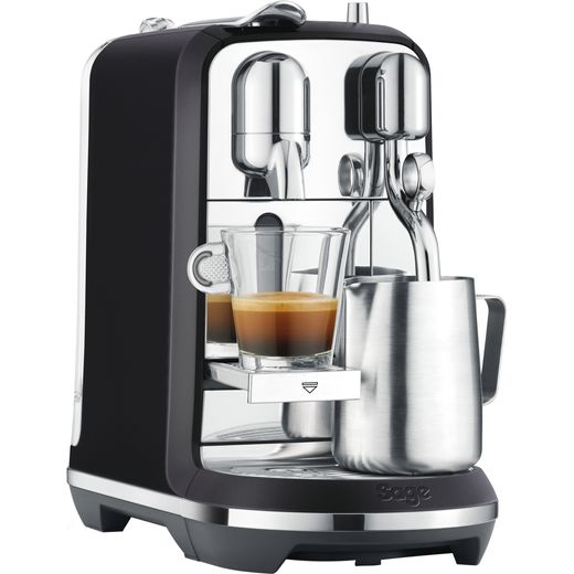 Nespresso by Sage Creatista Plus SNE800BTR - Black Truffle