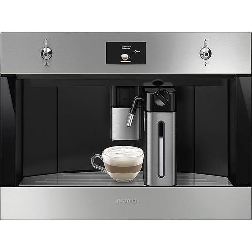Smeg Classic CMS4303X Built In Bean to Cup Coffee Machine - Stainless Steel