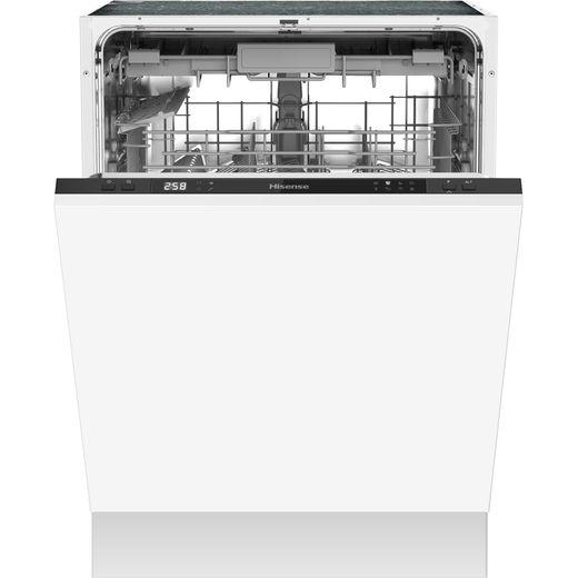 Hisense HV603D40UK Built In Standard Dishwasher - Black
