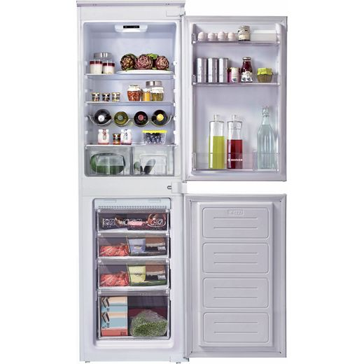 Candy BCBF50NUK/N Integrated 50/50 Frost Free Fridge Freezer with Sliding Door Fixing Kit - White - F Rated