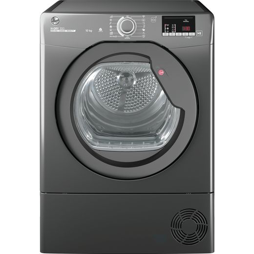 Hoover H-DRY 300 HLEC10DCER Wifi Connected 10Kg Condenser Tumble Dryer - Graphite - B Rated