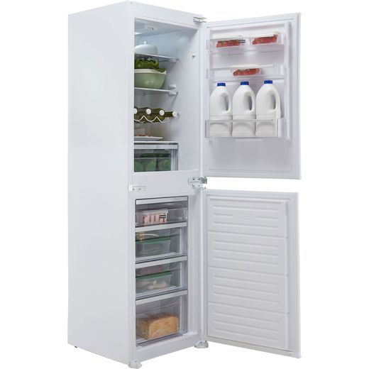 Stoves INT50FF Integrated 50/50 Frost Free Fridge Freezer with Sliding Door Fixing Kit - White - F Rated
