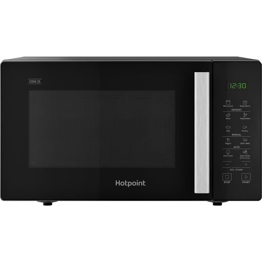 Hotpoint COOK 25 MWH251B 25 Litre Microwave - Black