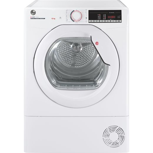 Hoover HLEC10TG Wifi Connected 10Kg Condenser Tumble Dryer - White - B Rated