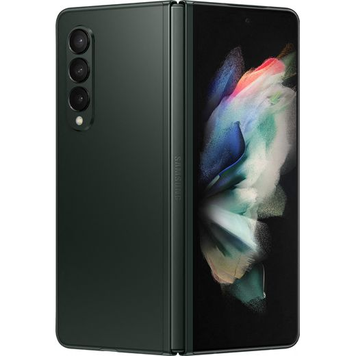 Samsung Galaxy Z Fold3 5G 256GB Foldable Phone in Phantom Green