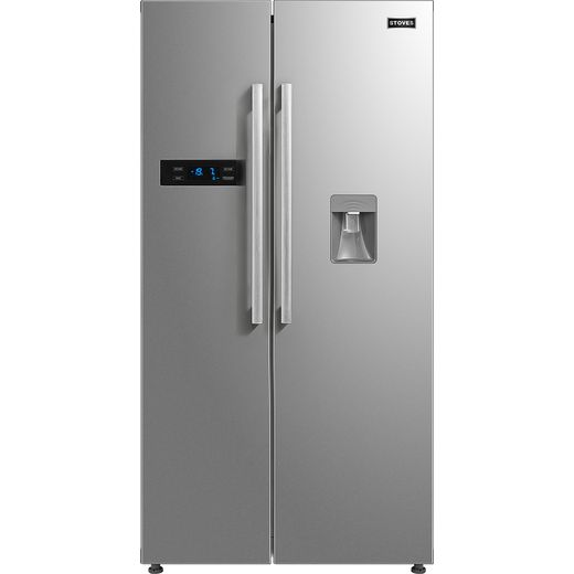 Stoves SXS909WTD American Fridge Freezer - Stainless Steel - F Rated