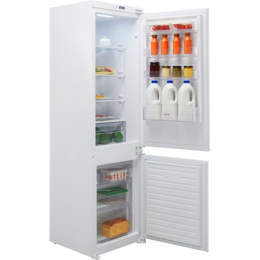 Baumatic BRCIF3180E/N Integrated 70/30 Frost Free Fridge Freezer with Sliding Door Fixing Kit - White - E Rated