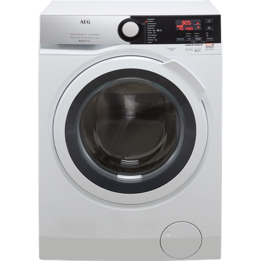 AEG L7FBE942CA Wifi Connected 9Kg Washing Machine with 1400 rpm - White - C Rated