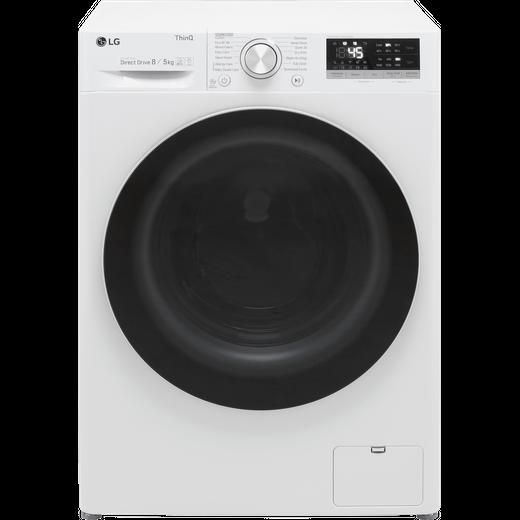 LG V5 FWV585WSE Washer Dryer - White