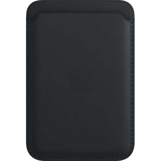 Apple Leather Wallet with Magsafe for iPhone 13 - Midnight