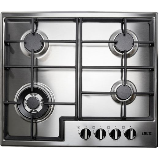 Zanussi ZGNN645X Built In Gas Hob - Stainless Steel