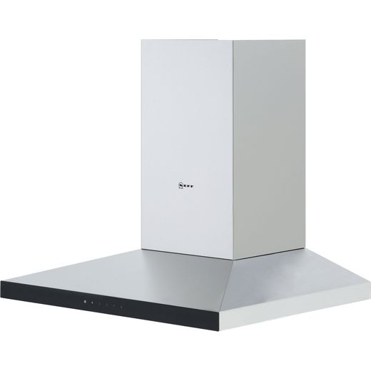 NEFF N50 D64QFM1N0B 60 cm Chimney Cooker Hood - Stainless Steel - A Rated