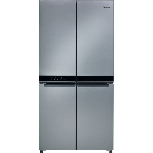 Whirlpool WQ9B1L1 American Fridge Freezer - Stainless Steel Effect - F Rated